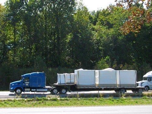 Step-Deck Load Freerksen Trucking