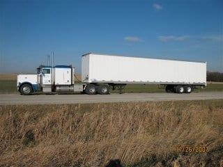 Truck 897 with Van Trailer